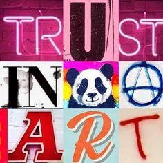 Trust In Art by Lizzie Reakes