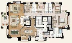 Confira a estimativa de preço, fotos e planta do edifício The Royal Plaza - Tower One na em Ecoville