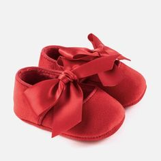 c3f8413f4cc Bow Mary Jane. Red CribBaby Girl ShoesGirls ...