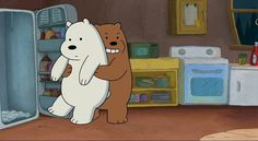 We Bare Bears Ice Bear We Bare Bears, We Bear, We Bare Bears Wallpapers, Cute Wallpapers, Puuung Love Is, Cartoon Network, Cute Puns, Disney Icons, Cute Emoji