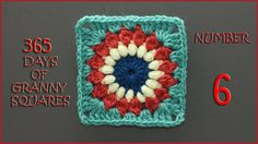 365 Days of Granny Squares Number 6