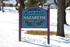 Nazareth, PA - my hometown!