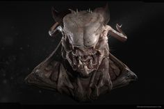 Creature Bust by Carlos Vidal | Creatures | 3D | CGSociety