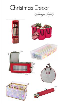 Looking for simple Christmas decor storage ideas? Here are some of my favorite s. Looking for simple Christmas decor storage ideas? Here are some of my favorite solutions along with Christmas Is Over, Christmas Mantels, Simple Christmas, Christmas Decorations, Christmas Crafts, Storage Hacks, Storage Ideas, Storage Organization, Gift Wrap Storage