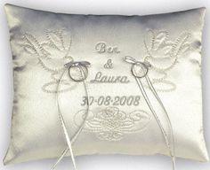 Wedding Ring Cushion | Personalised Wedding Ring Cushions /Great Gift