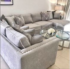 Our bespoke made sofas all off instore only, dm us for quotes also available in different colour fabrics. All made in the uk 🇬🇧… Selling Furniture, Furniture Making, Luxury Furniture, Furniture Design, Living Room Decor Cozy, Living Room Sofa, Interior Design Living Room, Bespoke Sofas, Furniture Boutique