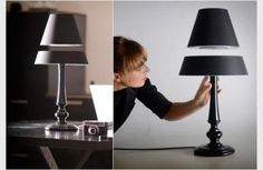floating lamp designed by Angela Jensen and Ger Jansen. Yes it is possible !