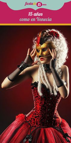 La fiesta de tus 15 años es uno de los eventos más esperados de tu vida, por lo quieres celebrarlo a lo grande y realizar una ceremonia que todos recuerden. Si deseas una quinceañera excéntrica y muy original inspírate en el elegante carnaval de Venecia.