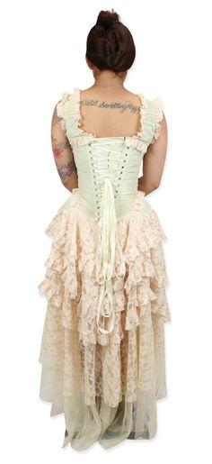 Cassandra Dress - Ivory