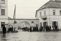 The entrance to the Szydłowiec Ghetto
