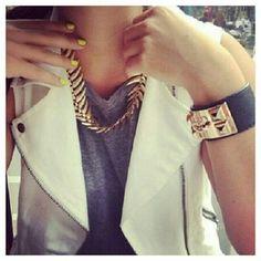 Leather love and gold studs hermes  @mariaandamelia's Instagram photos   Webstagram - the best Instagram viewer