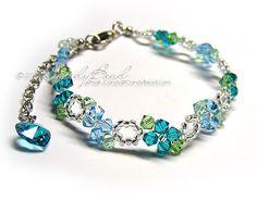 Swarovski Bracelet filled with sparkle. LOVE <3