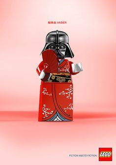Lego Advert - Fiction meets Fiction, Vader