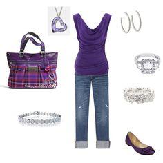 Diamonds and a coach purse -