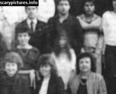 El Paso High School in Texas is said to be haunted by the ghost of a young girl who took her own life. There is a ghost photograph that, according to the legend High School In America, Schools In America, Ghost Images, Ghost Pictures, Ghost Pics, Spirit Ghost, Ghost Hauntings, Creepy Ghost, Real Ghosts