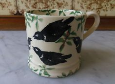 Emma Bridgewater Blackbirds Baby Mug
