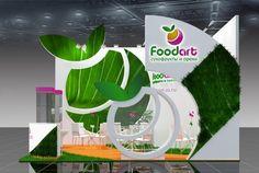 Выставочный стенд Food Art - Grafica Group
