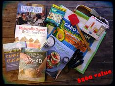 October reader giveaway: Dole Party Pack plus 5 cookbooks & kitchen goodies from OXO, Cuisinart, and Cabo Fresh. Ends Monday 10/28/13 at 11:59 pm.