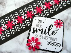 5 Black & White Scrapbook Borders that Pack a Punch