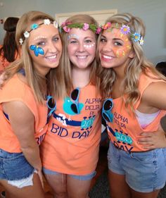 ADPi Bid Day Ideas | Bows, Pearls & Sorority Girls