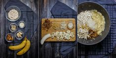 Zdrowe ciastka owsiane z bananem i bakaliami | Karo in the Kitchen