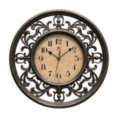 Infinity Instruments 15013RS-4012 Sofia Elegant Design Wall Clock