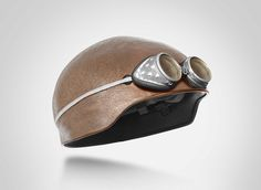 Motorcycle helmets that look like shaved heads - Boing Boing