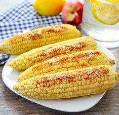 Parmesan Chipotle Corn on the Cob | Kirbie's Cravings | A San Diego food blog