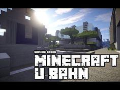 Minecraft | Die U-Bahn | ★ HD ★ - YouTube#Minecraft #PC #Xbox One #PS4 #Multiplayer #Survival #psn #playstation #Microsoft #Xbox #MC  #craft #modern #inspiration #buildings #house #street #stadt