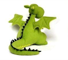 Yoki El Dragon Patrón de juguete para coser PDF by DIYFluffies