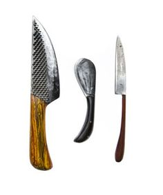 Brooklyn-based knife maker Miller uses found materials like horseshoe rasps to make gorgeous knives with one-of-a-kind textures and shapes. They'll be the envy of pretty much anyone who sees (and slices with) them. Price: $200 to $450