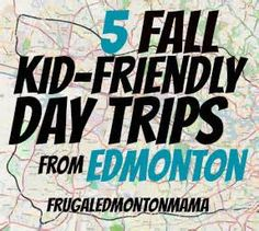 Five Kid-Friendly Fall Day Trips from Edmonton by Frugal Edmonton Mama- Awesome! My Road Trip, Road Trip With Kids, Travel Activities, Craft Activities For Kids, Alberta Travel, Let's Have Fun, Alaska Travel, Road Trippin, Dream Vacations