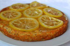 Palavras que enchem a barriga: Bolo de limão com limão confitado para um dia bom....