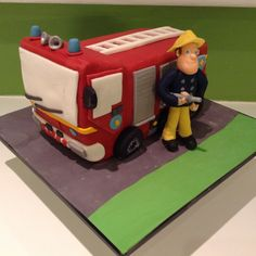Fireman Sam birthday cake idea!