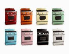 Electrodomésticos de Color en el Diseño de la Cocina - Kansei