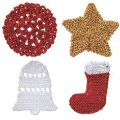 5 FREE Christmas Decorations - Knitting and Crochet Patterns