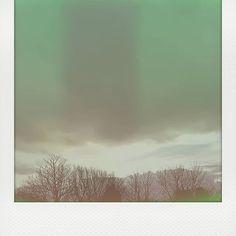 Happy birthday, world 🌏 #nature #sky #skyporn #ufo #alien #green #greenlight #celtic #pagan #spirit #trees #light #birthday #birth #wales #mystical #magical #pagan #shadow #clouds #rain #greenmagic