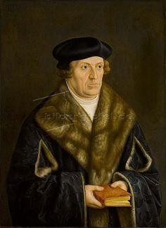 Bartel Beham: Bildnis Philipp von der Pfalz, Bischof von Freising. 1534