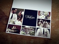 Our wedding thank you cards :)