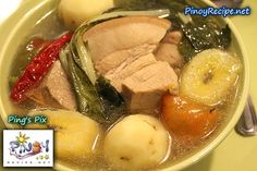 Filipino Puchero or Pochero is a delicious stew made from chicken, pork or beef. Here's how to prepare Puchero or Pochero the Filipino way.    Read more: http://www.pinoyrecipe.net/puchero-pochero-recipe/