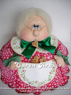 Sewing Projects, Projects To Try, Christmas Crafts, Xmas, Cute Cartoon Girl, Felt Dolls, Chiffon, Teddy Bear, Handmade