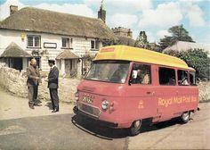 SUPERB VINTAGE POSTCARD - POST OFFICE - DUNKESWELL - DEVON 1978 Royal Mail Bus   eBay
