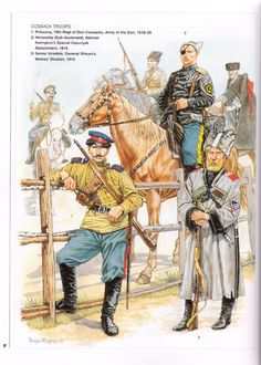 (1997) (Men-at-Arms No.305) The Russian Civil War (2) - White Armies