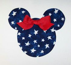 Red white & blue Mickey