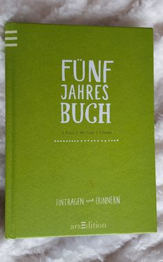 Fünf Jahres Buch Tableware, Book Recommendations, Diary Book, Blogging, Reading, Dinnerware, Tablewares, Dishes, Place Settings