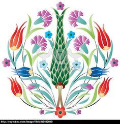 oriental ottoman design degrade