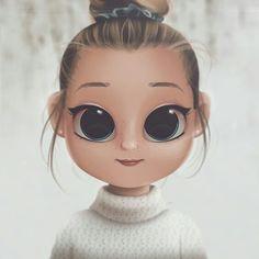 24 Ideas drawing cartoon art character design for 2019 Kawaii Girl Drawings, Cute Girl Drawing, Girly Drawings, Cartoon Girl Drawing, Drawing Cartoon Characters, Cartoon Drawings, Cartoon Kunst, Cartoon Art, Cartoon Mignon