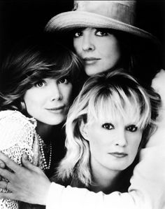 """Jessica Lange, Diane Keaton and Sissy Spacek ~ Promotional shoot for """"Crimes of the Heart"""", 1986."""