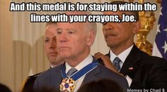 Ever notice how liberal morons love giving medals to each other?