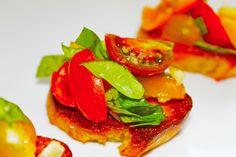 Heirloom Tomato Burschetta